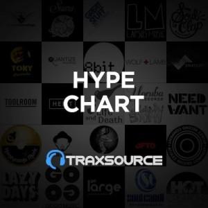 Traxsource Hype Chart (25 Mar 2019)