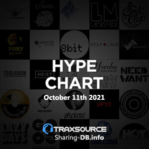 Traxsource Hype Chart October 11th 2021